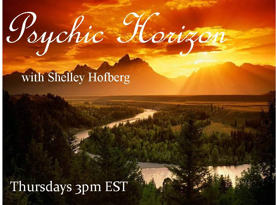 Today at 3 pm ET, Jeremy Riden, Intuitive Destiny Coach, is the Special Guest on the Psychic Horizon Radio Show with host Shelley Hofberg