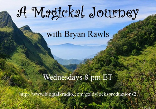 A Magickal Journey with Bryan Rawls Show Banner