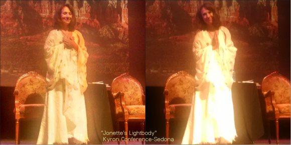 Jonette Glowing in Sedona