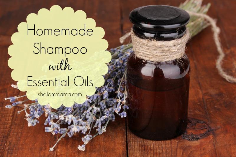 Homemade Shampoo with EssentialOils