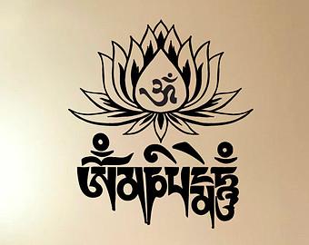 Om Mani Padme Hum Lotus