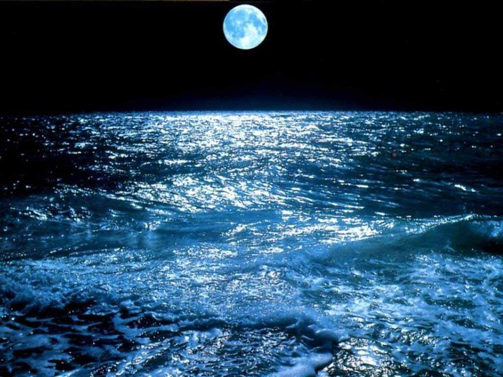 Our Sacred Moon and Water