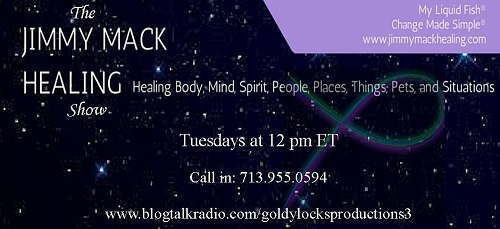 Today at 12 pm (Noon) ET, Pamela Cummins is the Special Guest on The Jimmy Mack Healing Radio Show with host Jimmy Mack.