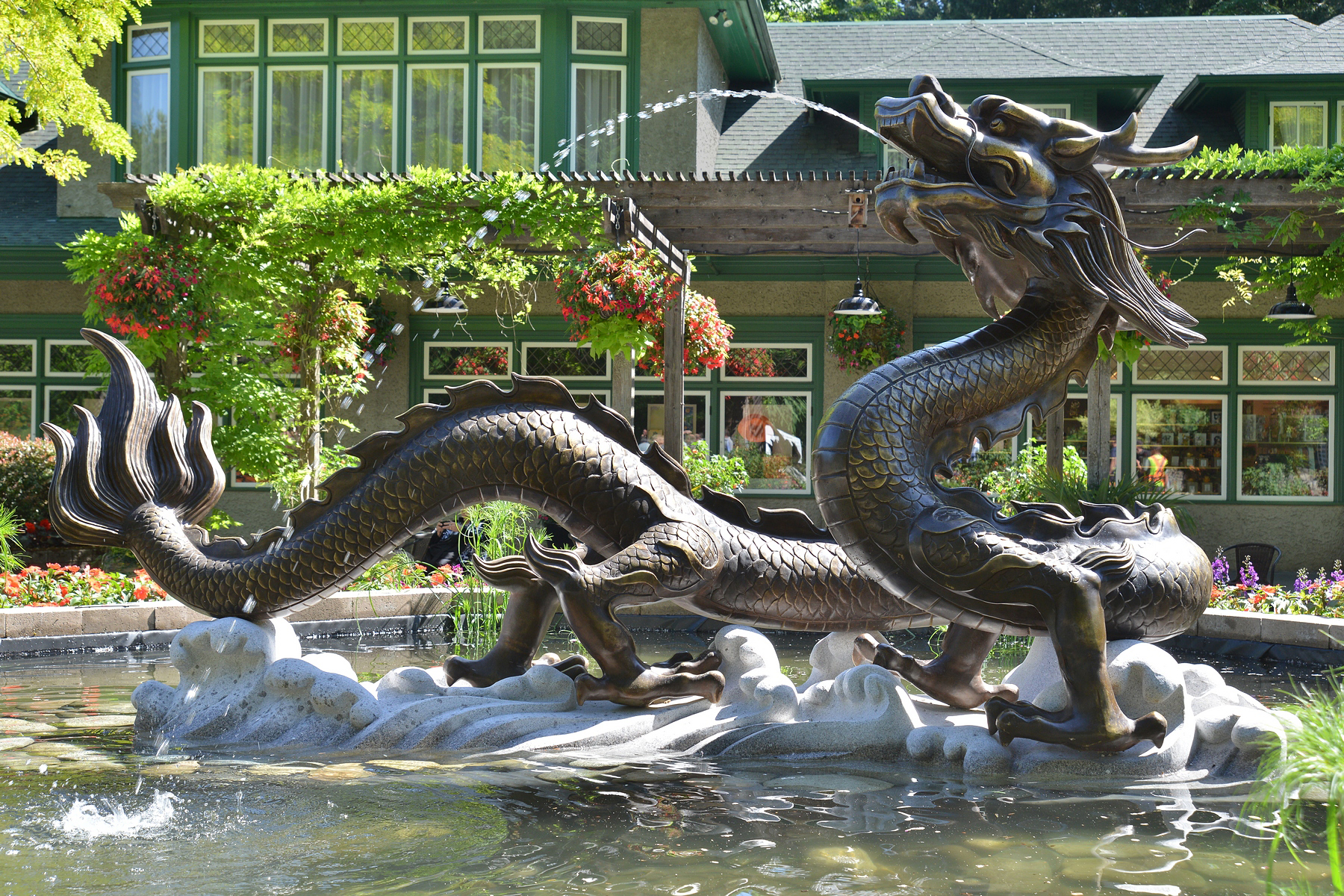 Dragon Water Fountain