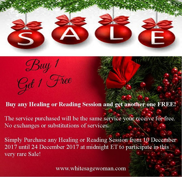 Holiday BOGO Free Sale