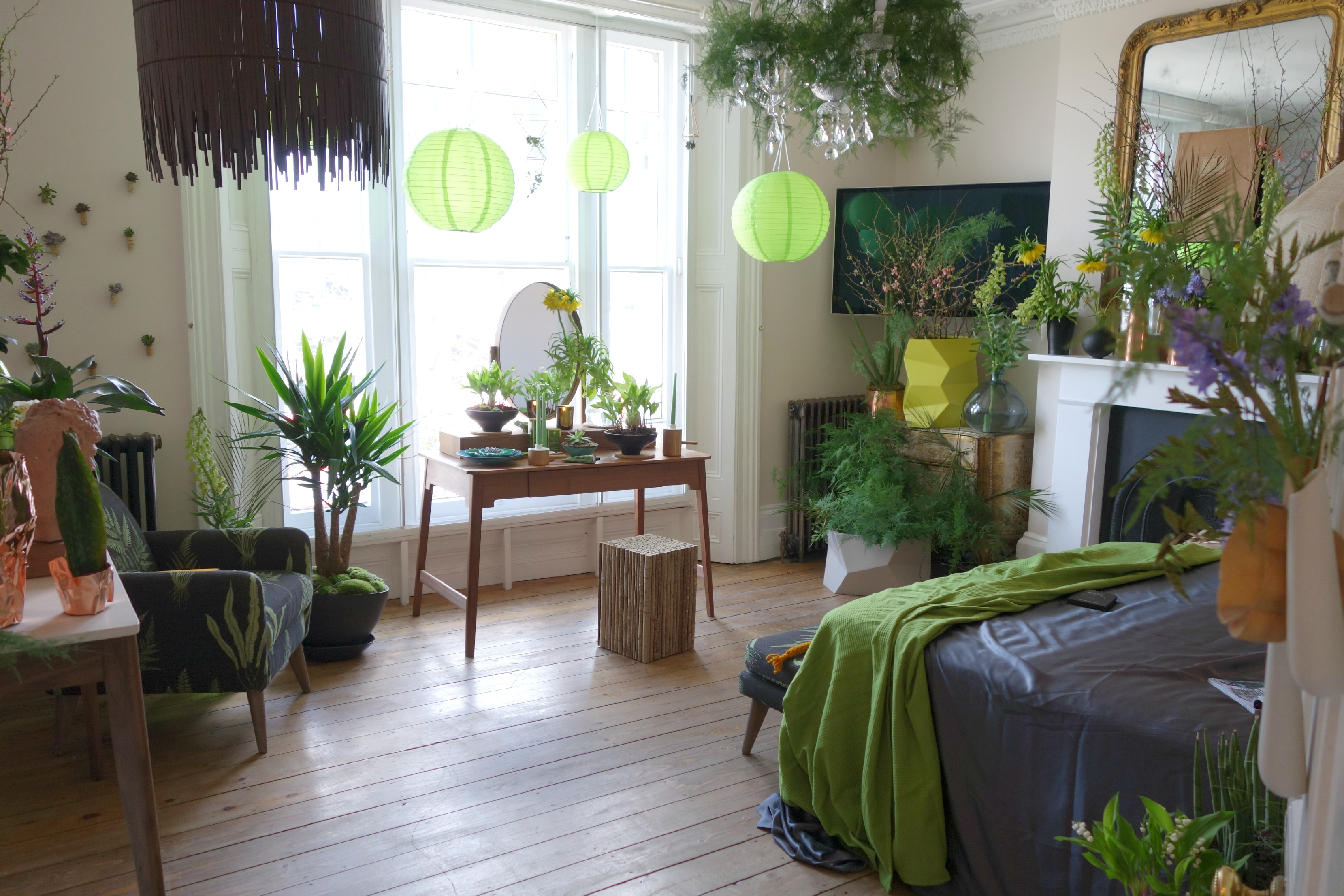 Feng Shui Tip: No Plants In Your Bedroom