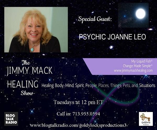 Psychic Joanne Leo Show Banner