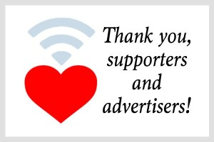 Thank You Supporters and Advertisers