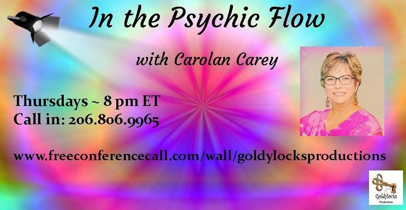 Carolan Carey Show Banner